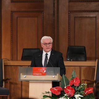 German president urges honoring 'legacy' of Nuremberg trials on 75th anniversary