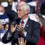 Pence Visits Georgia, Vows to 'Keep Fighting Until Every Illegal Vote Is Thrown Out'