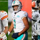 NFL Week 11: Patrick Mahomes good, Tua Tagovailoa bad, Carson Wentz ugly