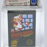 Super Mario Bros. game cartridge sells for $100,150