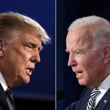 """Bidens highlight """"sacrifice"""" of staying home for Thanksgiving while Trump encourages Americans to gather"""