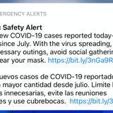 San Antonio leaders send emergency alert to residents, warning against Thanksgiving gatherings