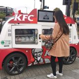 KFC Turned to Self-Driving Cars in China to Deliver Fried Chicken While Limiting Human Contact