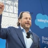 Salesforce buying Slack would mark the first big software deal in a boom year for the cloud