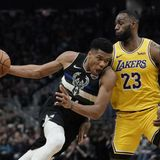 Giannis: LeBron James the 'Best in the World'; 'Doesn't Matter Who Is the MVP'