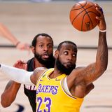 LeBron James agrees new two-year £64m deal with LA Lakers