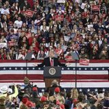 Trump attacks Georgia vote integrity in first political rally since losing re-election - National   Globalnews.ca