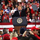 Trump Struggles With Defeat in His First Postelection Rally