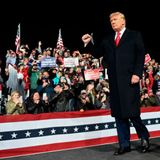 Defiant Trump insists election was 'rigged' at rally for Georgia Senate Republicans