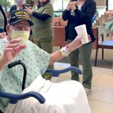 A 104-year-old World War II veteran from Alabama has survived Covid-19
