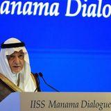 Saudi prince slams Israel at summit