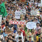 Tens of thousands protest Australian PM's climate policies amid bushfire crisis