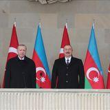 Turkish, Azerbaijani presidents attend Victory Parade