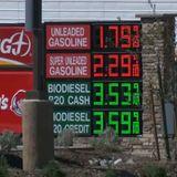 Gas prices drop under $2 at Jurupa Valley truck stop amid coronavirus pandemic