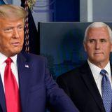NY AG predicts President Trump will step down so VP Pence can pardon him