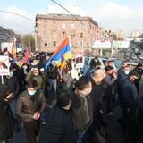 Protesters Block Yerevan Streets As Pressure Builds On Armenia's Prime Minister To Step Down