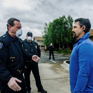 Virus rages as new rules challenge California city's mettle