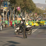 Business owners, supporters march through L.A. calling for rollback of COVID-19 restrictions
