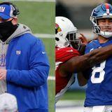 Giants coach Joe Judge: 'No regrets' playing hamstrung QB Daniel Jones