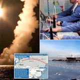 Russian nuclear submarine test-fires 4 missiles