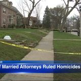 Deaths of Oak Park married attorneys found in home ruled homicides by stabbing