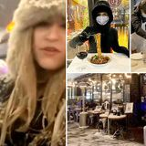 New Yorkers brave freezing weather to dine outside amid Storm Gail