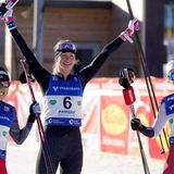 American Tara Geraghty-Moats wins first women's Nordic combined World Cup - OlympicTalk   NBC Sports