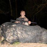 Fulshear teenager takes down nearly 400-pound feral hog terrorizing Texas ranch