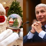 Dr Fauci: 'I vaccinated Santa Claus myself,' says Jolly 'Ol Saint Nick is ready for Christmas