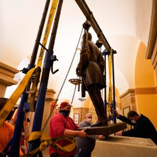 Monument Glorifying Civil War Traitor Removed From U.S. Capitol