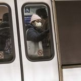 Metro Urges Riders to Cover Their Faces