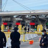 Driver Dead in Crash at U.S.-Mexico Border in San Ysidro