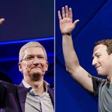 Facebook-Apple skirmish is the latest in a fight that stretches back more than a decade