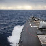 U.S., China send navies into contested sea after Taiwan show of force