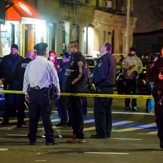 Two men fatally shot setting up NYC memorial for man shot to death day earlier