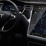 Apple Music placeholder in Tesla software suggests imminent support | AppleInsider