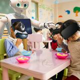 Robots will feed, teach & exercise one in three kids by 2050, expert claims