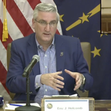 Gov. Holcomb extends state's stay-at-home order for another 2 weeks