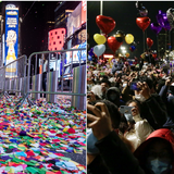 Empty streets vs jubilant crowds: Stark contrast between NYC & Wuhan on NYE provokes envy & accusations