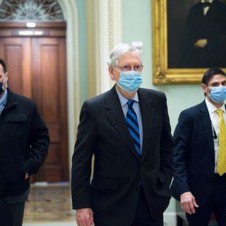 Senate hands Trump his first veto override