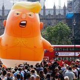 Baby Trump balloon, milkshakes primed for president's U.K. visit