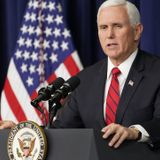 Pence Sounds Off on the GOP's Plans to Challenge the Election Results