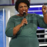 WATCH: Abrams' Reaction to Being Compared to Trump