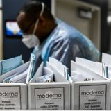 Trump officials debating cutting Moderna dose in half to speed up COVID-19 vaccination