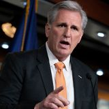 GOP Leader McCarthy Sounds Off on an Electoral Challenge