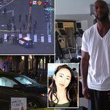 Parolee, 46, 'killed two pedestrians in hit and run in stolen car'