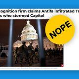 Facial Recognition Firm: Washington Times Antifa Story False