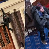 Josiah Colt, Capitol rioter pictured hanging from Senate balcony, begs forgiveness