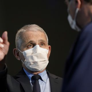 Dr Fauci wants Americans to wear masks for 'at least' 100 days into Joe Biden presidency