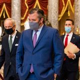 Ted Cruz accused of abetting sedition and inspiring pro-Trump riot by resisting Biden's victory